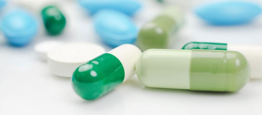 Pillen. Tabletten.