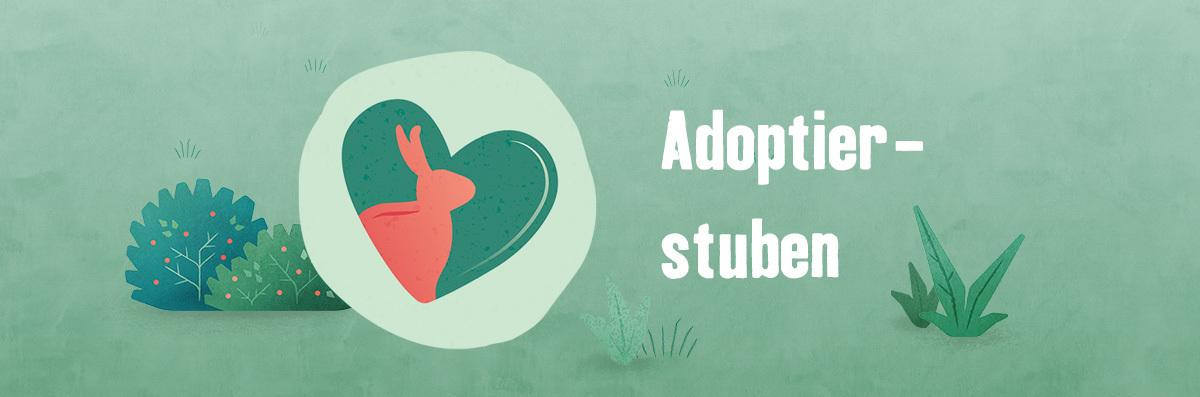 Tierisch engagiert Adoptierstuben