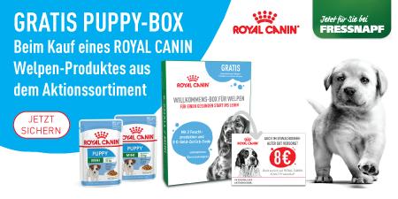 Gratis Puppy Box von Royal Canin