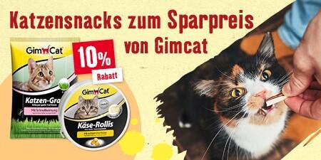 Katzensnacks zum Sparpreis von GimCat