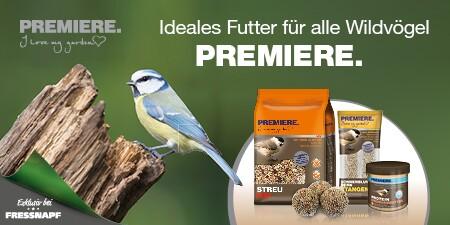 PREMIERE für Wildvögel