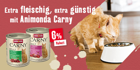 Extra fleischig, extra günstig mit Animonda Carny