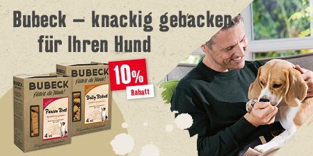 Bubeck - knackig gebacken für Ihren Hund