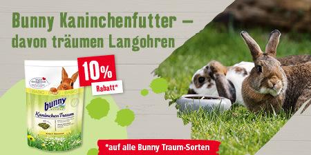Bunny Kaninchenfutter - davon träumen Langohren