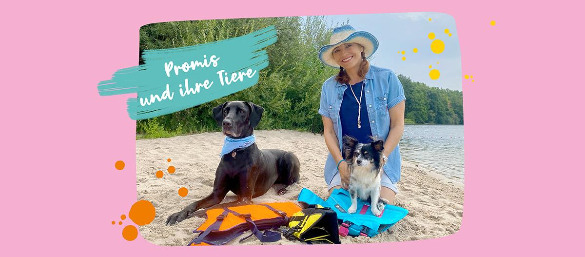 Diana Eichhorn mit Hunden