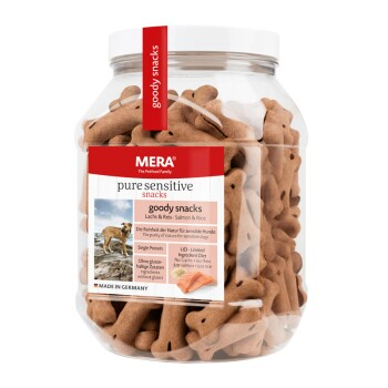 Dog Goody Snacks 600g Lachs & Reis
