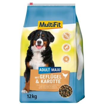 Maxi Adult mit Geflügel & Karotte 12kg