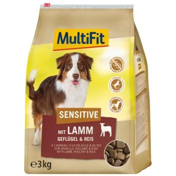 Sensitive Adult mit Lamm, Geflügel & Reis 3kg