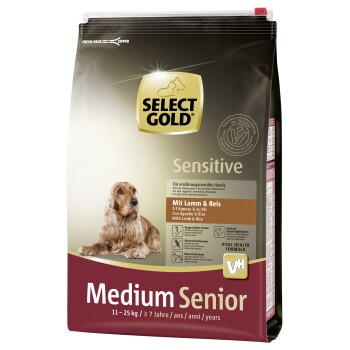 Sensitive Senior Medium Lamm & Reis 4kg