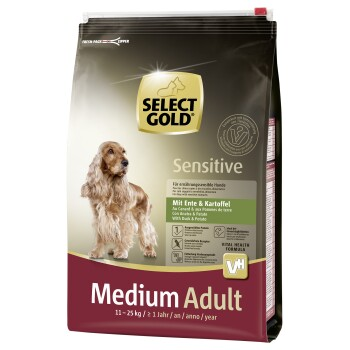 Sensitive Adult Medium Anatra e Patate 4 kg