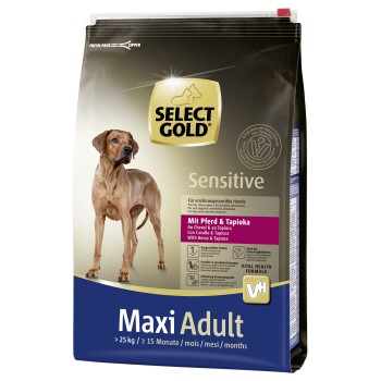 Sensitive Adult Maxi Pferd & Tapioka 4kg