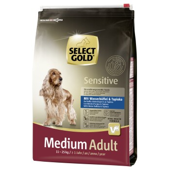 Sensitive Adult Medium Wasserbüffel & Tapioka 4kg