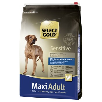Sensitive Adult Maxi Wasserbüffel & Tapioka 4kg