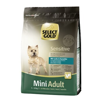Sensitive Adult Mini Saumon et pommes de terre 1 kg