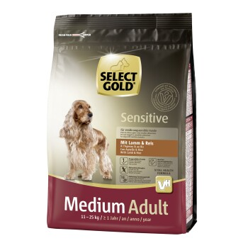 Sensitive Adult Medium Lamm & Reis 1kg