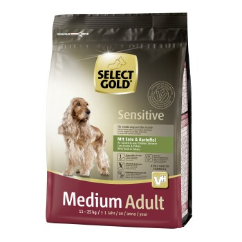 Sensitive Adult Medium Kaczka i ziemniaki 1 kg