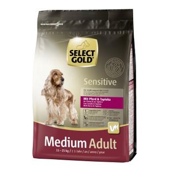 Sensitive Medium Adult Pferd & Tapioka 1kg