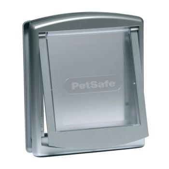 PetSafe Haustierklappe 2-Wege silber S  (737)