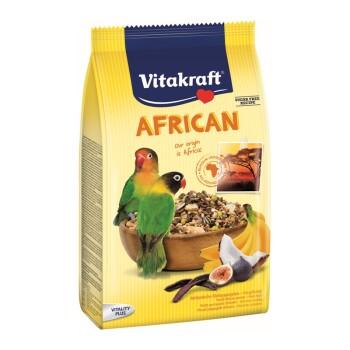 Ojczyste smaki African Agaporniden 750 g 750 g