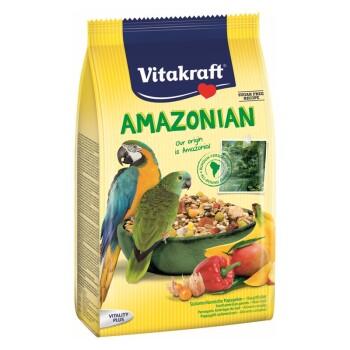 Rodzima karma Amazonian dla amazonek 750g 750 g