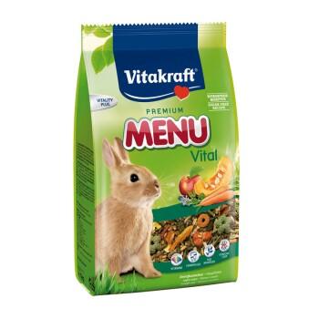 Premium Menü Vital Zwergkaninchen 1kg