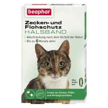 Zecken- und Flohschutz Halsband für Katzen 35cm