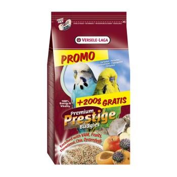Prestige Premium Wellensittich 1kg + gratis 200g