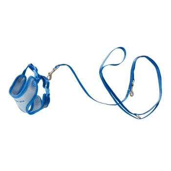 Welpengeschirr mit Leine Blau