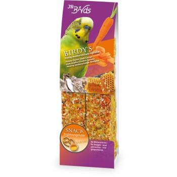 BIRDY's Parrocchetti ondulati Miele, guscio di ostrica e carota