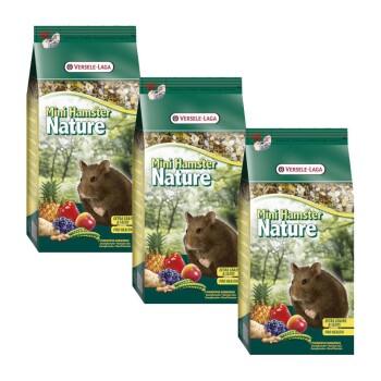 Versele Laga Nature Mini Hamster Sparpaket 3x400g