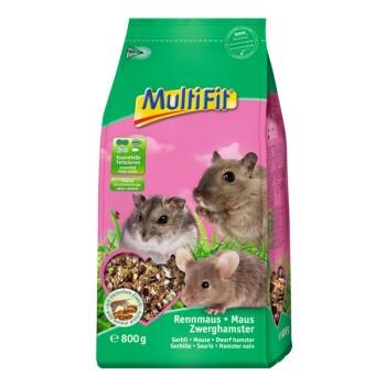 Pokarm dla gryzoni dla myszy, myszoskoczków i chomiczników 800 g