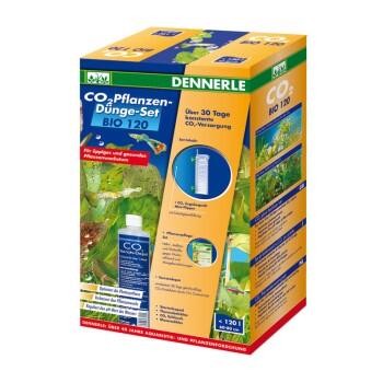 CO2 Pflanzen-Dünge-Set Bio bis 120l