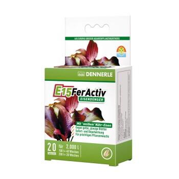 E15 FerActiv für Aquarienpflanzen 20Stück