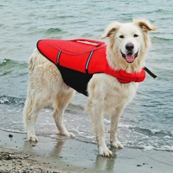 Hunde-Schwimmweste Gelb L