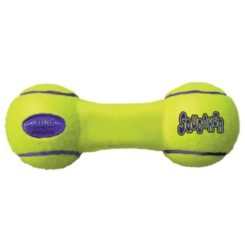 Zabawka Air Squeaker Dumbbell M