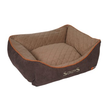 Hundebett Thermal Braun S
