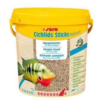 Cichlids Sticks Nature 10l