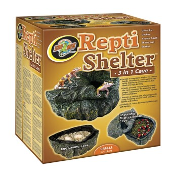 Repti Shelter 3 in 1 S