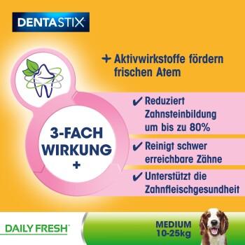 Zahnpflege Dentastix Fresh Multipack 28 Stück für mittelgroße Hunde