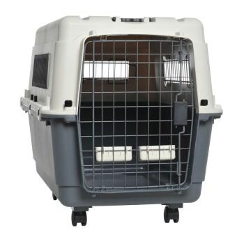 Transportbox Grau/Weiß L-XL
