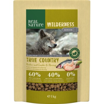 WILDERNESS Senior True Country Huhn mit Lachs & Hering 1kg