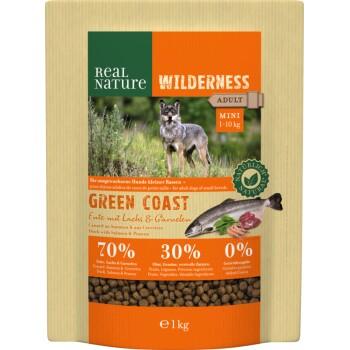 WILDERNESS Mini Adult Green Coast Ente mit Lachs & Shrimps 1kg