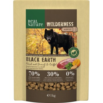 WILDERNESS Black Earth Bœuf & buffle 1 kg