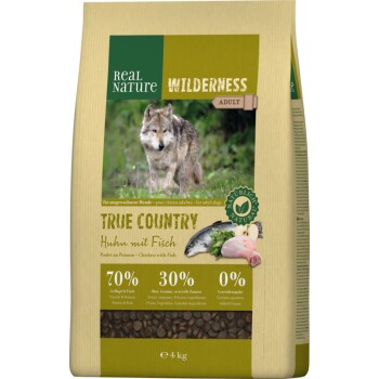 WILDERNESS True Country Adult Poulet au poisson 4 kg