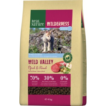 WILDERNESS Junior Wild Valley Cavallo e Manzo 4kg