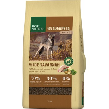 WILDERNESS Wide Savannah Wildschwein mit Lamm & Ente 12 Kg