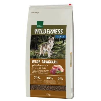 WILDERNESS Wide Savannah zdzikiem, jagnięciną ikaczką 12kg