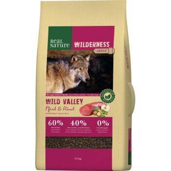 WILDERNESS Wild Valley Cheval et bœuf 12kg