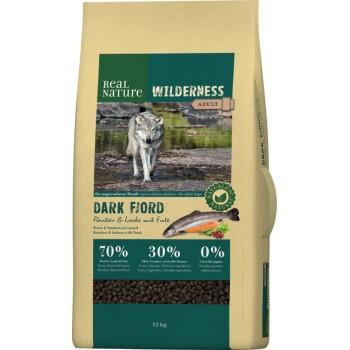 WILDERNESS Dark Fjord Saumon, renne et canard 12kg