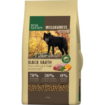 WILDERNESS Black Earth Rind & Büffel 12kg